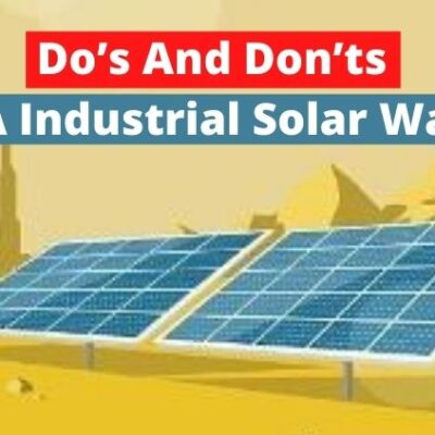 Do's And Don'ts To Follow To Maintain A Industrial Solar Water Heater